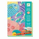 Kit creativ de colorat - Lumea subacvatica
