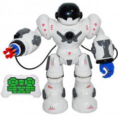 Robot de jucarie cu radiocomanda, acumulator reincarcabil, sageti cu ventuze 4 in 1