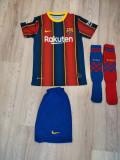Echipament FC Barcelona copii 5-14 ani, XS/S, YS, YXL, YXXL, Tricou + Pantalon