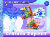 Cumpara ieftin Crăiasa Zăpezii. Activități 3-5 ani. Micul artist plastic