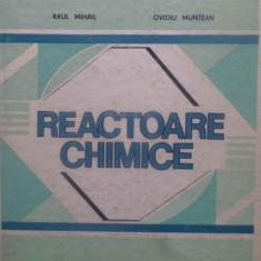 REACTOARE CHIMICE - RAUL MIHAIL, OVIDIU MUNTEAN
