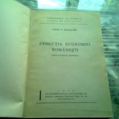 EVOLUTIA ECONOMIEI ROMANESTI , DUPA RAZBOIUL MONDIAL DE VIRGIL N. MADGEARU