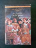 LEON BATTISTA ALBERTI - DESPRE FAMILIE / DE FAMILIA (2015, editie bilingva)