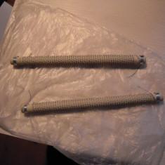 LOT de 2 rezistente de 1000W, pe suport ceramic cu lungimea de 23 cm., NOI