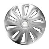 Cumpara ieftin Set 4 capace roti Michelin, 15 inch, argintiu