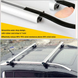 Set bare aluminiu portbagaj cu cheie RENAULT Clio 4 IV 2012-2019 Combi/Caravan