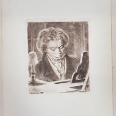 AUREL BORDENACHE - LUDWIG VAN BEETHOVEN, CODLEA, 1958