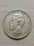 5 lei 1884, Carol I - Argint