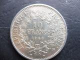 FRANTA 10 FRANCS/FRANCI 1968.(Argint) (12)