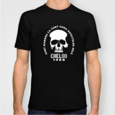 Tricou Cheloo parazitii 20 cm records suma defectelor videoclip 20cm XL