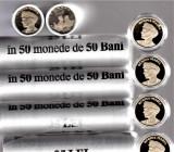 Fisic 50 bani 2019 50 bucati monede regina Maria+1 bucata PROOF