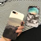 Carcasa pentru iPhone cu model creativ