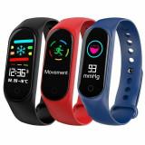 Bratara Fitness M3 - Monitorizare calorii, puls, tensiune