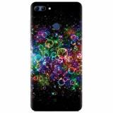 Husa silicon pentru Huawei Y9 2018, Rainbow Colored Soap Bubbles
