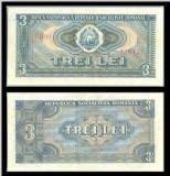 Bancnote România, bani vechi 3 lei 1966
