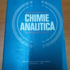 AS - NEDEA C. - CHIMIE ANALITICA