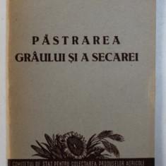 PASTRAREA GRAULUI SI A SECAREI de I. A. CLEEV , 1953