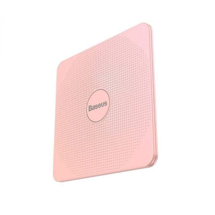 Dispozitiv inteligent anti-pierdere Baseus T1, Roz, Bluetooth, Monitorizare aplicatie, Alarma SafetyGuard Surveillance