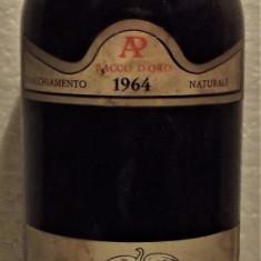 A21- VIN SUPERIORE DELLA VALTELLINA VALGELLA, DOC, recoltare 1964 cl 75 gr 12,50