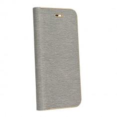 Husa Forcell Luna Book Samsung Galaxy S10 Silver