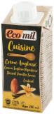 Crema vegetala bio din migdale si vanilie, pentru gatit, 200 ml ECOMIL CUISINE