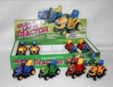 Jucarie Tractor pentru micii fermieri 2760E, Verde