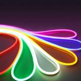 Banda LED Neon Flex 5 metri, 24V. COD: JSUNSPT-NEON-2835-1-24V