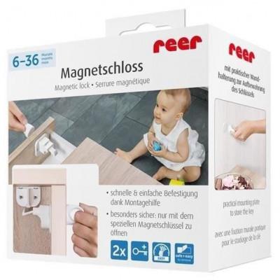 Incuietoare magnetica pentru sertare si usi de dulapuri REER 51010 Children SafetyCare foto