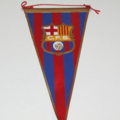 Fanion (vechi) fotbal - FC BARCELONA