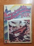 Carte pentru copii anii '90 -aventurile submarinului dox,nr 6