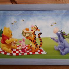 Winnie the Pooh și gașca de prieteni, tablou pentru cameră de copii