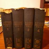 Dictionar Enciclopedic Roman 4 volume