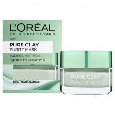 Masca purifianta pentru matifierea tenului cu extract de eucalipt L Oreal Paris Pure Clay Purity Mask 50 ml