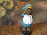 Arta / Design - Figurina / Bibelou din ceramica cu marcaj realizata manual !
