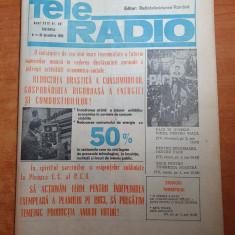 revista tele radio 4 -10 decembrie 1983