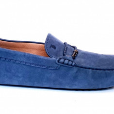 Mocasini Tod's, barbati, culoare albastru ,marime 46,5