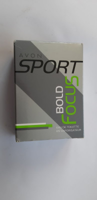 Apa de toaleta Bold Focus - 50 ml - AVON foto