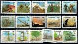 Zimbabwe 1995 - uzuale, cladiri, industrie, serie neuzata