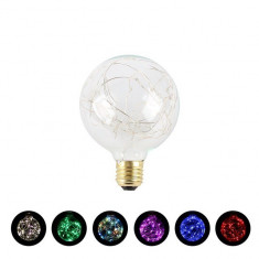 Bec cu luminite colorate,Christmas Light