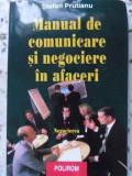 MANUAL DE COMUNICARE SI NEGOCIERE IN AFACERI VOL.2 NEGOCIEREA (PUTIN UZATA) - ST