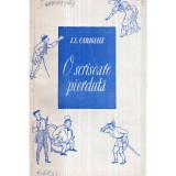 O scrisoare pierduta - Comedie in patru acte, Ion Luca Caragiale
