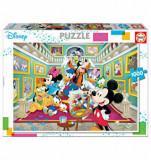 Cumpara ieftin Puzzle Mickey Art Gallery, 1000 piese, Educa