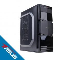 Sistem desktop Business Powered by ASUS Intel Core i5-9400F Hexa Core 2.9 GHz 8GB RAM DDR4 nVidia GTX 1050 Ti STRIX GAMING 4GB GDDR5 SSD 240GB + HDD 1