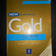JACKY NEWBROOK, JUDITH WILSON - NEW PROFICIENCY GOLD COURSEBOOK