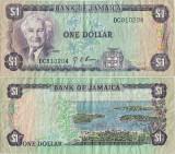 1976 , 1 dollar ( P-59a ) - Jamaica
