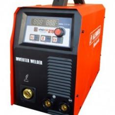 Aparat de sudura SYNERGIC cu sarma , electrozi si WIG/TIG tip invertor HandyMIG 215