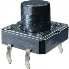 Push buton 12x12mm, inaltime 11mm - 124404