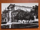 Turnu Severin - Teatrul - carte postala ciculata 1969, Circulata, Fotografie