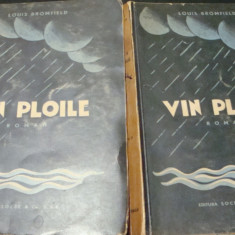 Louis Bromfield - Vin ploile - 2 volume - interbelica