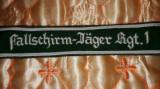 Brasarda Fallschirmjäger Regiment 1 parasutist de elita,Luftwaffe WW2,airsoft